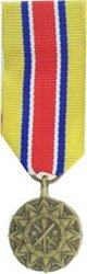Army Reserve Components, National Guard-MINI MEDAL
