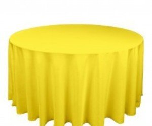 28 Yellow Table Cloth Large Lemon Yellow Striped Plastic Ta