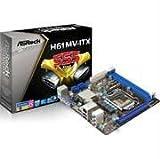 ASRock H61MV-ITX -LGA1155 Intel H61 Chipset DDR3 A and GbE Mini-ITX Motherboard