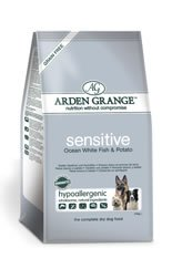 Arden Grange Sensitive Ocean Fish Potato Dog Food 15kg