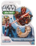 Playskool Heroes, Star Wars, Jedi Force Figure, Darth Maul with Sith Speeder