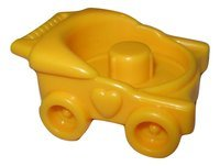 Fisher Price Little People Sweet Sounds Home Happy Home Little People House Furniture Accessories Replacement and Add On Furniture Baby Furniture Baby Boy Baby Girl YELLOW STROLLER - 1