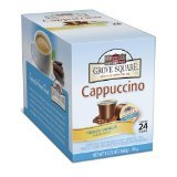 Grove Square Cappuccino, French Vanilla, 24-Count for Keurig K-cup Brewers