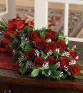 Same Day Flower Delivery Dozen Rose Presentation Bouquet