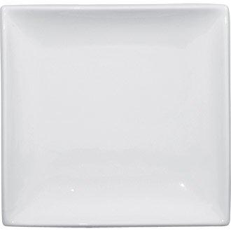 White Square Plates Crockery Dinner Set - 29.5cm 11 1/2