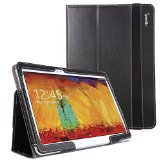 Poetic Slimbook Case for Samsung Galaxy Note 10.1 2014 Edition Tablet Black (3 Year Manufacturer Warranty From Poetic)