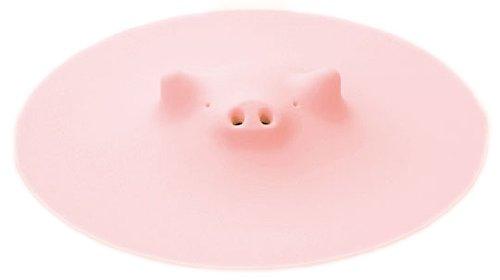 マーナ ZOOSブタの落としぶた ピンク
