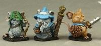 Mouslings (3) Wizard, Archer, Warrior Dark Heaven Legends Series