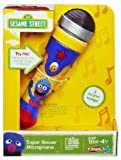 Playskool Sesame Street Super Grover Microphone