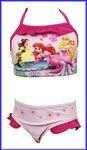 Oficial Princesas Disney niña bañadores Bikini Rosa Rosa Palido 18-24 meses