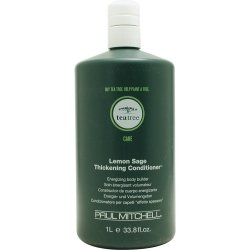 Paul Mitchell By Paul Mitchell Tea Tree Lemon Sage Thickening Conditioner 33.8 Oz ( Package Of 5 )