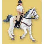 Papo - White Horse With Saddle