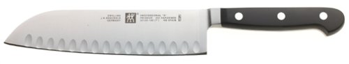 Zwilling J.A. Henckels Twin Pro S 7-Inch Santoku Knife with Hollow Edge