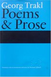 Poems and Prose (1870352718) by Georg Trakl