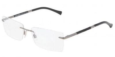 DOLCE & GABBANA Eyeglasses DG 1224 04 Gunmetal