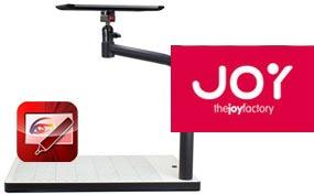 The Joy Factory Illustrate Stand w/ Overhead Projecting and Annotating App