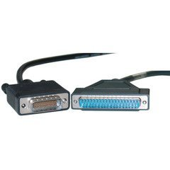 VoojoStore Cisco Compatible Serial Cable, HD60 Male to DB37 Male, Equivalent to CAB-449MT-6, 6 foot