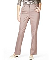 Classic Cotton Rich Flat Front Trousers