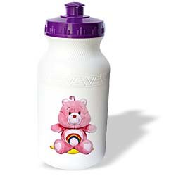Care Bears - Pink Care Bear, Carebears - Water Bottles