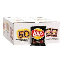 Lay'S Barbecue Potato Chips 50-1Oz Bag