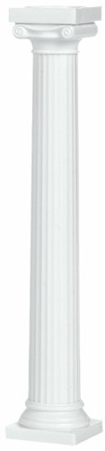 Wilton 303-3705 4-Pack Grecian Pillars for Cakes, 7-Inch