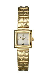 Bulova Women's Steel Square watch #97T96