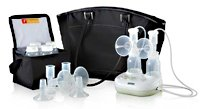 Purely Yours Ultra Breast Pump With Custom Fit Flanges [Each-1 (Single)] front-445509