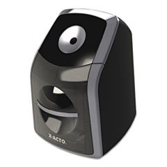 ** Sharpx Classic Electric Pencil Sharpener, Black/Silver **