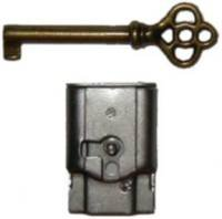 Full Mortise Furniture Lock with Key