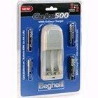 BEGHELLI Caricabatterie Carica 500 Pack