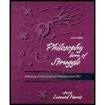 img - for PHILOSOPHY BORN OF STRUGGLE: ANTHOLOGY OF AFRO-AMERICAN PHILOSOPHY FROM 1917 book / textbook / text book
