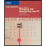 Lab Manual for A+ Guide to Managing and Maintaining Your PC, Fifth Edition