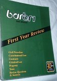 Barbri Bar Review - Civil Procedure, Constitutional Law, Contracts, Criminal Law, Property, Torts, R