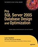 Pro SQL Server 2005 Database Design and Optimization (1430212837) by Davidson, Louis