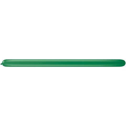 Qualatex 160Q Green Tying Balloons (10 ct)