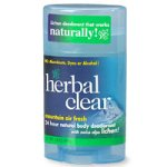 Herbal Clear 24 Hour Natural Body Deodorant, Mountain Air Fresh - 1.8 oz
