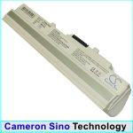 Replacement White 6600mAh Battery for MSI Wind U100, MSI Wind U120, Advent 4211, Advent 4212, Medion Akoya Mini E1210
