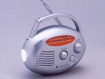 太知 手回し充電たまご 手回しラジオ   MG-119S