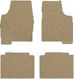 Chevrolet Malibu Carpeted Floor Mats 4 Pc Set - 4 Door - Light Shale (1970 70 1971 71 1972 72 ) AMSLO2U968ZUMSQ