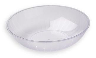 Clear Plastic Serving Bowl, 2-Gallon front-462266