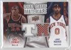 Larry Hughes, Tyrus Thomas Chicago Bulls, New York Knicks (Basketball Card) 2009-10 Upper Deck Dual Game Materials #Dg-Ht
