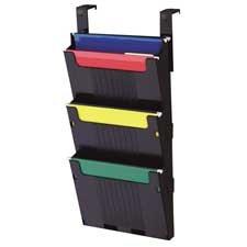 Deflect-O Corporation : Hanging File System, 3 Slots, 12-5/8\