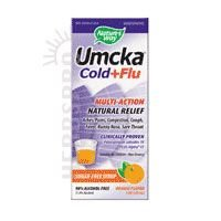 Nature's Way Umcka Cold And Flu Orange Syrup 4 oz ( pack of 6)