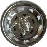 Linda Lou Decorative Sink Strainer - Sea Turtle