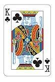 Card Night Cutout, King Card - 1