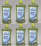 Mr Clean Auto Dry Car Wash Soap Large 20 Oz Bottles (6 Pack)