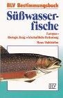 Süßwasserfische Europas. BLV-Bestimmungsbücher,  Band 4 (3405118670) by Bent J. Muus
