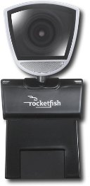 Rocketfish 2.0MP Widescreen HD 720p USB WebCam Photo Up To 8MP PC|Mac RF-HDWEB by BBY Solutions Inc.