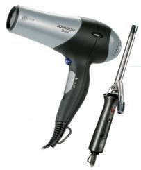 Asciugacapelli Johnson 2200W + arriccia capelli