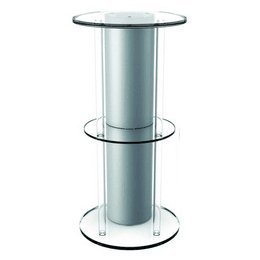 Reef One Biorb Acrylic Aquarium Stand (Silver)